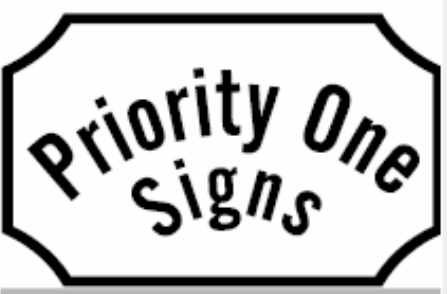 Priority One Signs